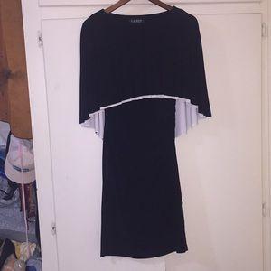 Cape Cocktail Dress